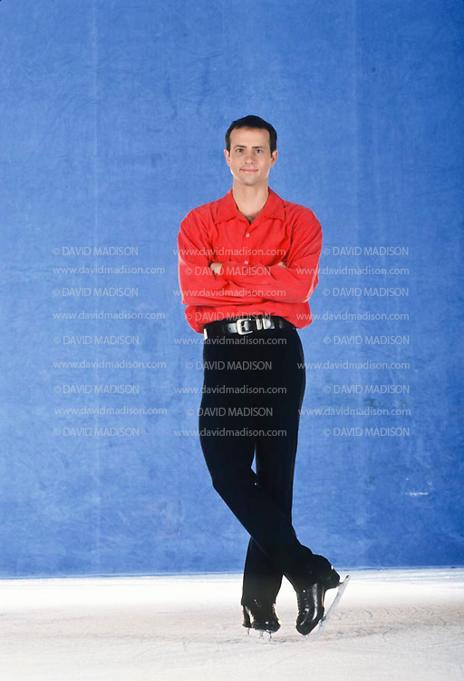 DUBLIN, CA -  OCTOBER 27:  Brian Boitano of the USA is seen at the Dublin Iceland arena in Dublin, California on October 27, 1993.  Boitano was the Olympic Champion in Men's Figure Skating at the 1988 Winter Olympics.  (Photo by David Madison/Getty Images) *** Local Caption *** Brian Boitano