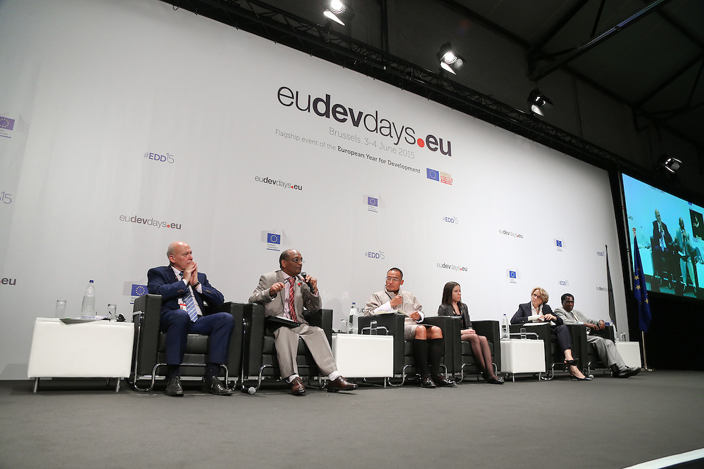 04 June 2015 - Belgium - Brussels - European Development Days - EDD - Climate - A climate change agreement - Towards Paris and beyond © European Union