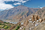 Dhankar Gompa (Monastery) in Spiti Valley