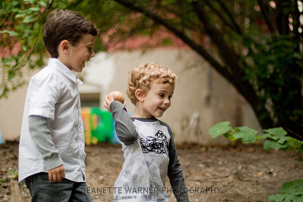 Portraits of the Conley Family at the Linden Historic Mill Pond