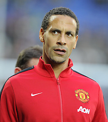 Man Utd Defender Rio Ferdinand (ENG) - Photo mandatory by-line: Joseph Meredith/JMP - Tel: Mobile: 07966 386802 - 24/11/2013 - SPORT - FOOTBALL - Cardiff City Stadium - Cardiff City v Manchester United - Barclays Premier League.