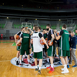 20180219: SLO, Basketball - Practice session of Slovenian Men National Team