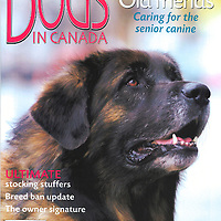 Dogs in Canada cover