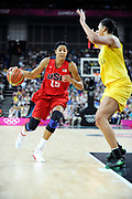 DESCRIZIONE : Basketball Jeux Olympiques Londres Demi finale<br /> GIOCATORE : Parker Candace USA<br /> SQUADRA : USA FEMME<br /> EVENTO : Jeux Olympiques<br /> GARA : USA AUSTRALIE<br /> DATA : 09 08 2012<br /> CATEGORIA : Basketball Jeux Olympiques<br /> SPORT : Basketball<br /> AUTORE : JF Molliere <br /> Galleria : France JEUX OLYMPIQUES 2012 Action<br /> Fotonotizia : Jeux Olympiques Londres demi Finale Greenwich Arena<br /> Predefinita :
