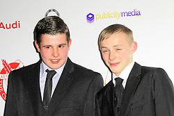 © Licensed to London News Pictures. 02/02/2014, UK. Shaun Thomas; Conner Chapman London Critics Circle Film Awards, May Fair Hotel, London UK, 02 February 2014. Photo credit : Richard Goldschmidt/Piqtured/LNP