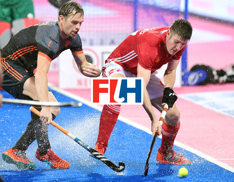 Odisha Men's Hockey World League Final Bhubaneswar 2017<br /> Match id:17<br /> England v Netherlands<br /> Foto: Liam Sanford (Eng) <br /> COPYRIGHT WORLDSPORTPICS FRANK UIJLENBROEK