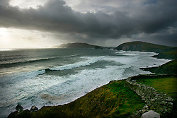 IRELAND KERRY DINGLE 3NOV05 - Coastal landscape at Slea Head on the Dingle Peninsula, Irelands most westerly county...jre/Photo by Jiri Rezac..© Jiri Rezac 2005..Contact: +44 (0) 7050 110 417.Mobile: +44 (0) 7801 337 683.Office: +44 (0) 20 8968 9635..Email: jiri@jirirezac.com.Web: www.jirirezac.com..© All images Jiri Rezac 2005 - All rights reserved.