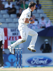 Auckland-Cricket, New Zealand v England, 3rd test, day 3, March 24