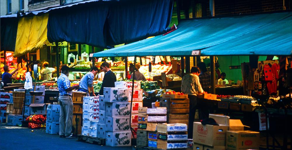 Italian Market in South Philadelphia, Pennsylvania