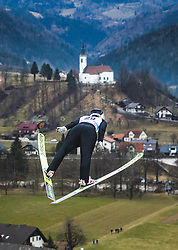 RUNGGALDIER Elena (ITA) during qualification round of FIS Ski Jumping World Cup Ladies Ljubno 2020, on February 23th, 2020 in Ljubno ob Savinji, Ljubno ob Savinji, Slovenia. Photo by Matic Ritonja / Sportida