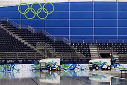 Olympic Winter Games Vancouver 2010 - Olympische Winter Spiele Vancouver 2010, Richmond Olympic Oval,  general view, overview, Uebersicht, Halle, Eishalle, Sportstaette,  *** Local Caption *** +++ www.hoch-zwei.net +++ copyright: HOCH ZWEI / Malte Christians +++