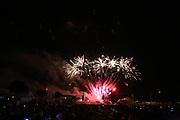 Mannheim. 29.07.17 | ID 063 |<br /> Maimarktgel&auml;nde. Pyrogames. Feuerwerker in vier Teams z&uuml;nden ihre Feuerwerkchoreografien ab und lassen sich vom Publikum bewerten. <br /> <br /> Bild: Markus Pro&szlig;witz 29JUL17 / masterpress