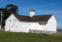 Old Dairy building, Pierce Point Ranch, Point Reyes National Seashore, California, United States of America