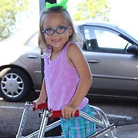 RAY VAN DUSEN/BUY AT PHOTOS.MONROECOUNTYJOURNAL.COM<br /> Prayers were answered last week following approval from her father's insurance company giving the okay for her selective dorsal rhizotomy surgery at St. Louis Children's Hospital.