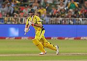 Mitchell Marsh of Australia during the 2016 T20 International Series match between South Africa and Australia in Kingsmead Stadium Durban, Kwa-Zulu Natal on 04 March 2016©Muzi Ntombela/Backpagepix