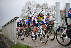 Lotta Lepistö (FIN) in the front group at Healthy Ageing Tour 2019 - Stage 3, a 124 km road race starting and finishing in Musselkanaal, Netherlands on April 12, 2019. Photo by Sean Robinson/velofocus.com