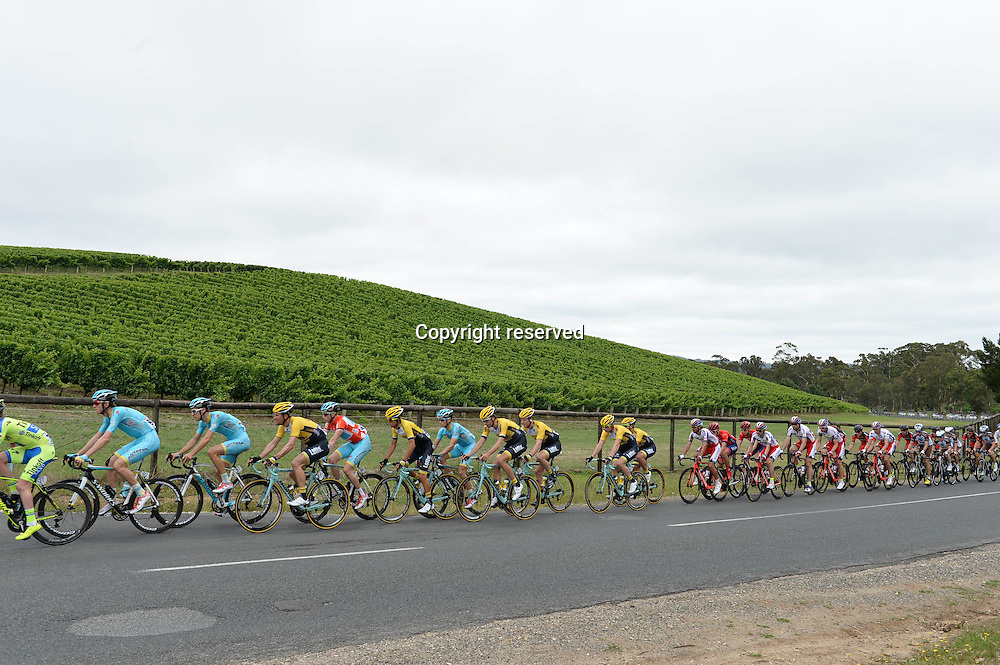 21.01.2015. Unley to Stirling. Tour Down Under cycling tour.  Lotto NL - Jumbo 2015