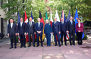 11.APRIL.2012. WASHINGTON D.C<br /> <br /> U.S. SECRETARY OF STATE HILLARY RODHAM CLINTON POSES WITH HER G8 COUNTERPARTS FOR THE G8 FOREIGN MINISTERS MEETING AT THE BLAIR HOUSE IN WASHINGTON, D.C. ON APRIL 11, 2012.  <br /> <br /> BYLINE: EDBIMAGEARCHIVE.COM<br /> <br /> *THIS IMAGE IS STRICTLY FOR UK NEWSPAPERS AND MAGAZINES ONLY*<br /> *FOR WORLD WIDE SALES AND WEB USE PLEASE CONTACT EDBIMAGEARCHIVE - 0208 954 5968*