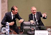 DESCRIZIONE : Media Day Nazionale Maschile GIOCATORE : Simone Pianigiani, Gianni Giovanni Petrucci<br /> CATEGORIA : nazionale maschile senior <br /> SQUADRA : Nazionale Maschile <br /> EVENTO : Media Day <br /> GARA : Media Day Nazionale Maschile <br /> DATA : 30/06/2014 S<br /> PORT : Pallacanestro <br /> AUTORE : Agenzia Ciamillo-Castoria  <br /> Galleria : Nazionale Italia Maschile 2013-2014 Fotonotizia : Media Day Nazionale Maschile<br /> Predefinita :