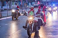 Santa motorbike ride, Berlin