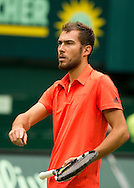 Jerzy Janowicz (POL) <br /> <br /> Tennis - Gerry Weber Open - ATP 500 -  Gerry Weber Stadion - Halle / Westf. - Nordrhein Westfalen - Germany  - 19 June 2015. <br /> &copy; Juergen Hasenkopf
