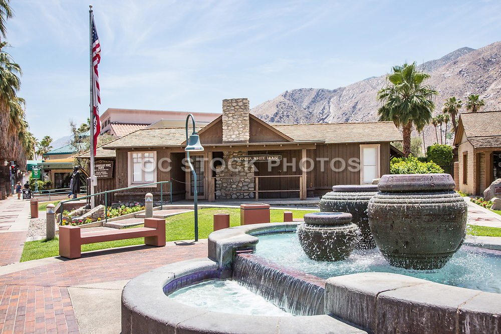Cornelia White House Downtown Palm Springs on Palm Canyon Drive