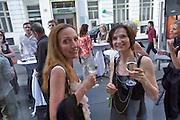 Vienna. Opening of Gerhild Amerer's (r.)Affaire De Coeur boutique.