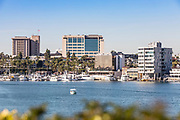 Newport Marina Shot from Lido Isle