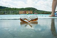 A relaxing day poolside at the Kiwanis Pool in St. Johnsbury Vermont.  Karen Bobotas / for Kiwanis International
