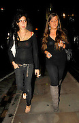 23.AUGUST.2007. LONDON<br /> <br /> AMY WINEHOUSE ARRIVING BACK AT HER HOTEL WITH BEST FRIEND JULIETTE AFTER GOING FOR SOME FOOD IN SOHO WHILE HUSBAND BLAKE MAKES A TRIP TO THE SHOPS WITH HIS MUM&DAD AND BROTHERS TO GET SOME TOOTHPASTE BEFORE RETURNING TO THEIR HOTEL.<br /> <br /> BYLINE: EDBIMAGEARCHIVE.CO.UK<br /> <br /> *THIS IMAGE IS STRICTLY FOR UK NEWSPAPERS AND MAGAZINES ONLY*<br /> *FOR WORLD WIDE SALES AND WEB USE PLEASE CONTACT EDBIMAGEARCHIVE - 0208 954 5968*