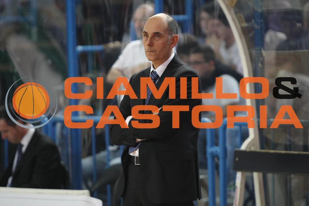 DESCRIZIONE: Cremona  Lega A 2009-10 Vanoli Cremona  Air Avellino<br />GIOCATORE: Attilio Caja coach<br />SQUADRA : Vanoli Cremona<br />EVENTO: Campionato Lega A 2009-10<br />GARA:  Vanoli Cremona   Air Avellino<br />DATA:  16/05/2010<br />CATEGORIA: Coach<br />SPORT: Pallacanestro<br />AUTORE: Agenzia Ciamillo-Castoria/F.Zovadelli<br />GALLERIA: Lega Basket A 2009-2010<br />FOTONOTIZIA: Cremona  Campionato  Italiano Lega A 2009-2010 <br />Vanoli Cremona  Air Avellino