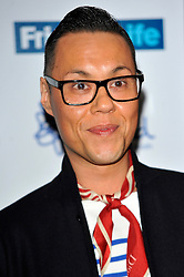 Gok Wan attends the Mind Media Awards 2012, BFI Southbank, Belvedere Road, London, United Kingdom, November 19, 2012. Photo by Chris Joseph / i-Images.