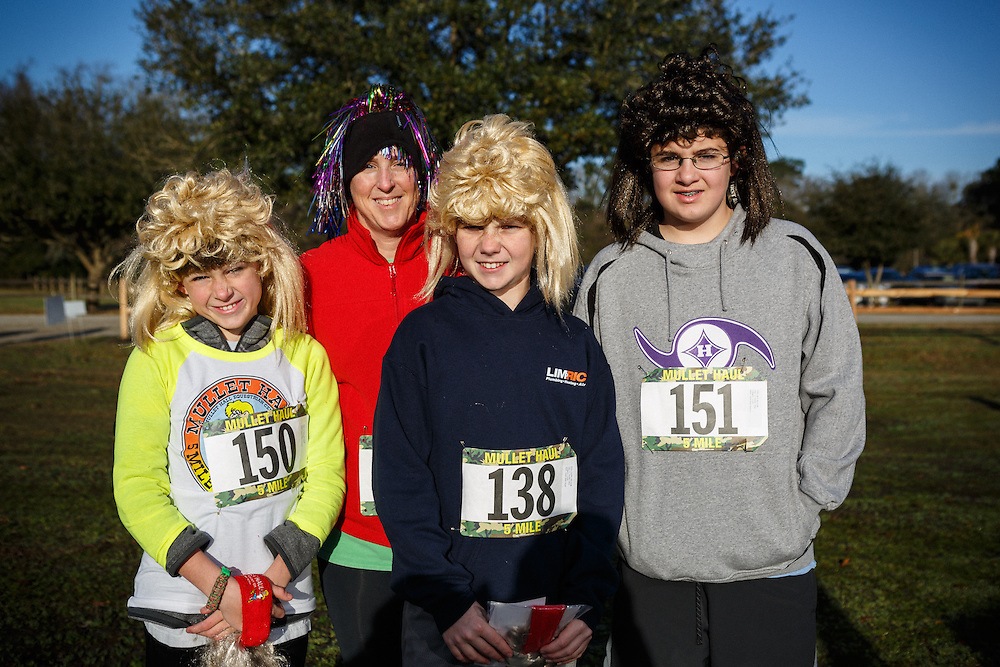Images from the 2015 Mullet Haul 5 and 10 mile trail race by Charleston County Parks and Recreation Commission at Mullet Hall Equestrian Center near Kiawah Island, South Carolina