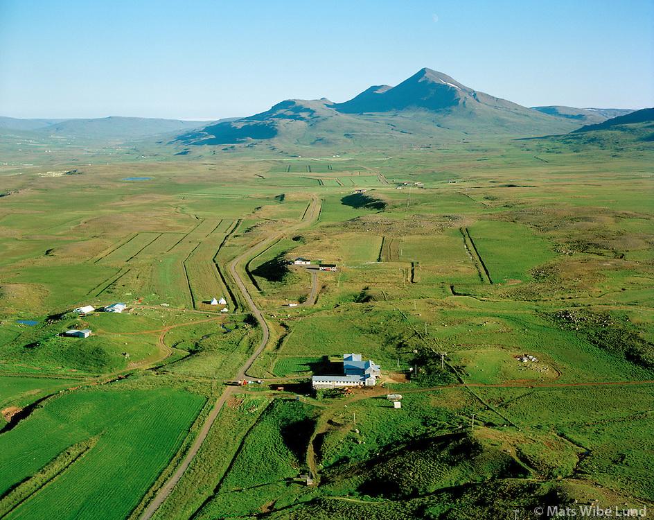 Álfgeirsvellir séð til suðurs, Lýtingsstaðahreppur / Alfgeirsvellir viewing south, Lytingsstadahreppur.