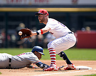 CHICAGO - JULY 02:  Todd Frazier #21 of the Chicago White Sox fields against the Texas Rangers on July 2, 2017 at Guaranteed Rate Field in Chicago, Illinois.  The White Sox defeated the Rangers 6-5.  (Photo by Ron Vesely) Subject:   Todd Frazier