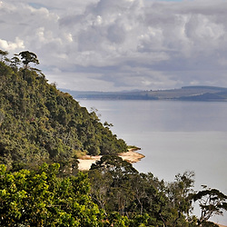 """Lagoa Juparanã (Paisagem) fotografado em Linhares, Espírito Santo -  Sudeste do Brasil. Bioma Mata Atlântica. Registro feito em 2012.<br /> <br /> <br /> <br /> ENGLISH: Juparanã Pond photographed in Linhares, Espírito Santo - Southeast of Brazil. Atlantic Forest Biome. Picture made in 2012."""