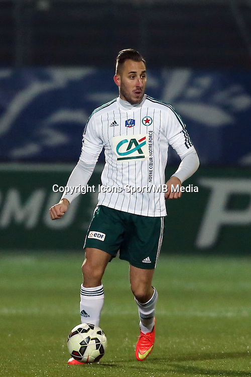 Romuald MARIE - 23.01.2015 - Red Star / Marseille Consolat - Coupe de France<br /> Photo : Sebastien Muylaert / Icon Sport