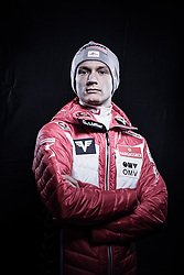 12.10.2019, Olympiahalle, Innsbruck, AUT, FIS Weltcup Ski Alpin, im Bild Daniel Huber // during Outfitting of the Ski Austria Winter Collection and the official Austrian Ski Federation 2019/ 2020 Portrait Session at the Olympiahalle in Innsbruck, Austria on 2019/10/12. EXPA Pictures © 2020, PhotoCredit: EXPA/ JFK