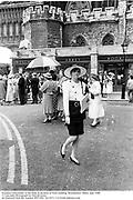 Suzanna Constantine at the Duke & duchess of York wedding. Westminster Abbey. July 1986<br />© Copyright Photograph by Dafydd Jones<br />66 Stockwell Park Rd. London SW9 0DA<br />Tel 0171 733 0108 dafjones.com