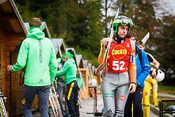 Andraz Modic during national competition in Ski Jumping, 8th of October, 2016, Kranj,  Slovenia. Photo by Grega Valancic / Sportida