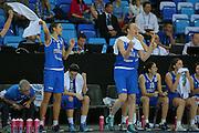 DESCRIZIONE : Orchies 26 giugno 2013 Eurobasket 2013 femminile<br /> Italia Nazionale Femminile Serbia<br /> GIOCATORE : team italia esultanza<br /> CATEGORIA : <br /> SQUADRA : Italia Nazionale Femminile <br /> EVENTO : Eurobasket 2013<br /> Italia Nazionale Femminile Serbia<br /> GARA : Italia Nazionale Femminile Serbia<br /> DATA : 26/06/2013<br /> SPORT : Pallacanestro <br /> AUTORE : Agenzia Ciamillo-Castoria/ElioCastoria<br /> Galleria : Eurobasket 2013<br /> Fotonotizia : Orchies 27 giugno 2013 Eurobasket 2013 femminile<br /> Italia Nazionale Femminile Serbia<br /> Predefinita :