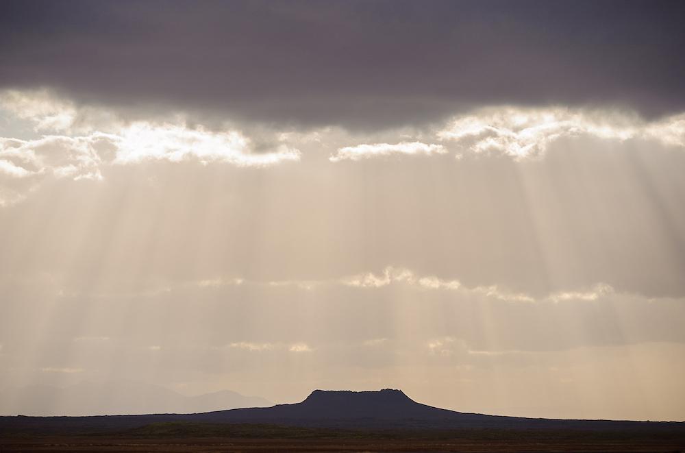 Volcanic cone, Iceland