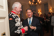 TRISTRAM CARTER; CAVALRY HON ARTILLERY; ; MICHAEL PORTILLO, Book launch for The Speedicut Papers, edited by Christopher Joll.- Bucks Club, Clifford St. London W1.