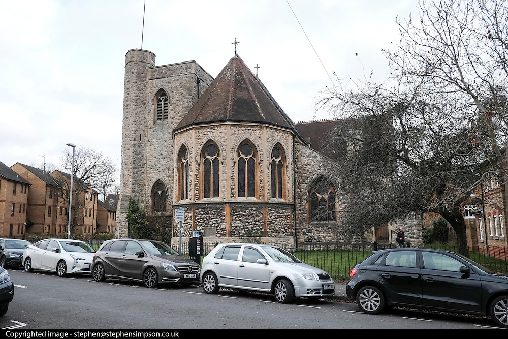 Kingston Upon Thames, UK.  St John's Church.  Photo credit: Stephen Simpson