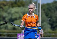 BLOEMENDAAL   -  Sophie Goorhuis ,  oefenwedstrijd dames Bloemendaal-Victoria, te voorbereiding seizoen 2020-2021.   COPYRIGHT KOEN SUYK
