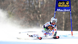 21.02.2015, Pohorje, Maribor, SLO, FIS Weltcup Ski Alpin, Maribor, Riesenslalom, Damen, 1. Lauf, im Bild Adeline Baud (FRA) // Adeline Baud of France during the 1st run of ladie's Giant Slalom of the Maribor FIS Ski Alpine World Cup at the Pohorje in Maribor, Slovenia on 2015/02/21. EXPA Pictures © 2015, PhotoCredit: EXPA/ Erwin Scheriau