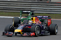 VETTEL Sebastian (Ger) Red Bull Renault Rb10 action during the 2014 Formula One World Championship, Grand Prix of China on April 20, 2014 in Shanghaï, China. Photo Eric Vargiolu / DPPI