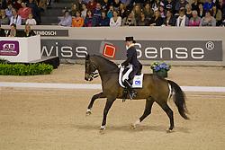 Schreven Jenny (NED) - Krawall<br /> Reem Acra FEI World Cup ™ Dressage Final 2012<br /> 'S Hertogenbosch 2012<br /> © Dirk Caremans