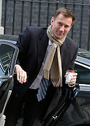 © Licensed to London News Pictures. 12/03/2013. Westminster, UK. Jeremy Hunt, Conservative MP, Secretary of State for Health. Ministers in Downing Street today 12 March 2013. Photo credit : Stephen Simpson/LNP
