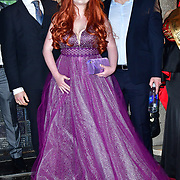 Victoria Yeates Arrivers at Gold Movie Awards at Regents Street Theatre, on 9th January 2020, London, UK